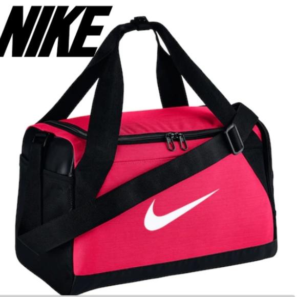 SOLD 🎆 Nike Duffel Bag Pink duffle bags mini 4b3182870a257